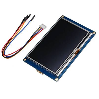 4.3 Inch Nextion HMI Akıllı Dokunmatik TFT Lcd Ekran - 16MB Dahili Hafıza NX4827T043