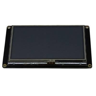 4.3 Inch Nextion HMI Dokunmatik TFT Lcd Ekran + 8 Port GPIO / 32MB Dahili Hafıza NX4827K043