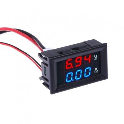 Digital Voltmetre Ampermetre DC 0-100V 0-10A Dual